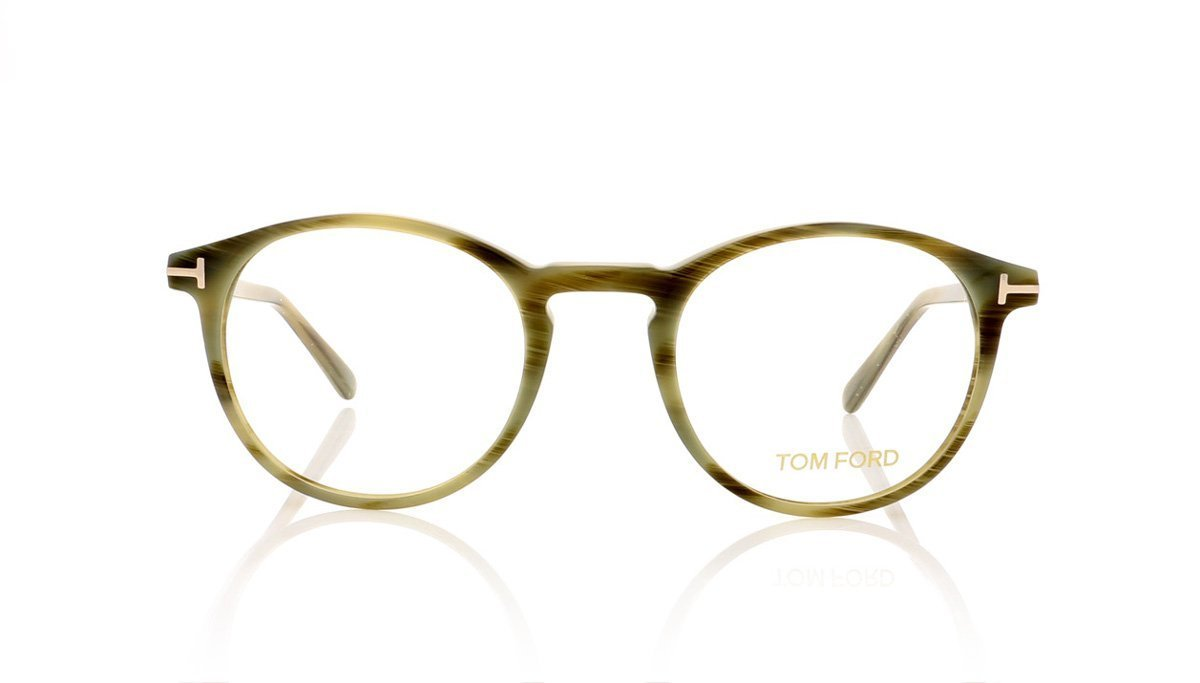 8c0a104552896 Tom Ford TF5294 064 Coloured Horn Glasses at OCO