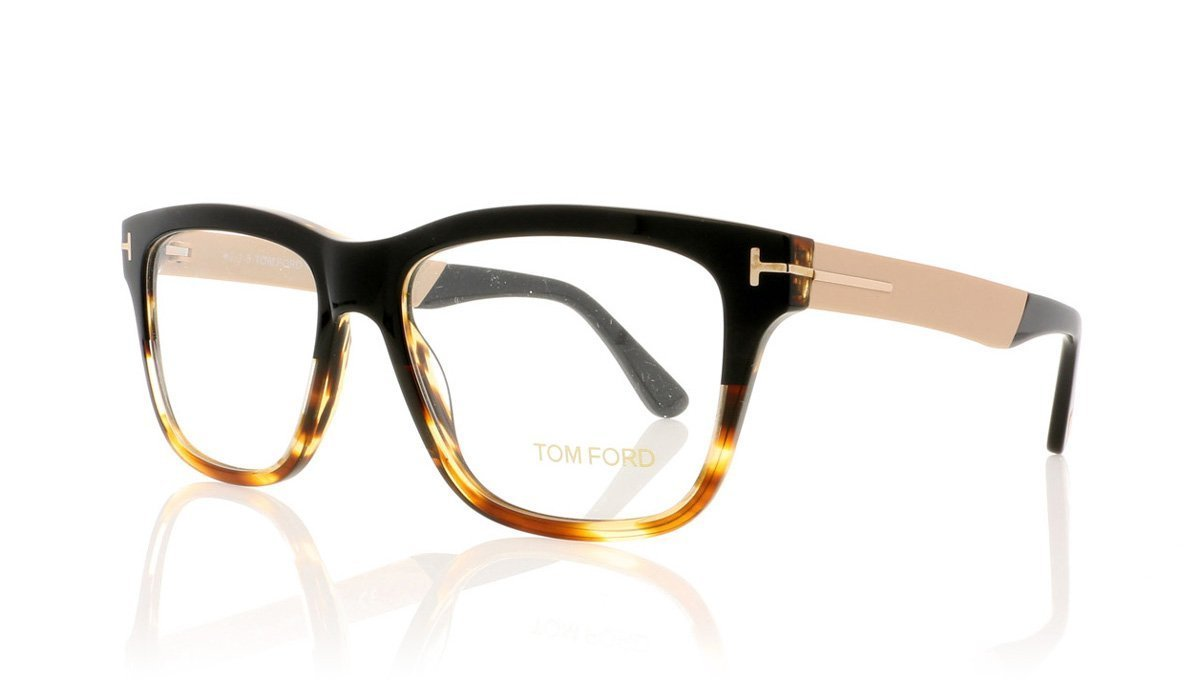 d34885c70fc Tom Ford TF5372 005 Black Glasses at OCO