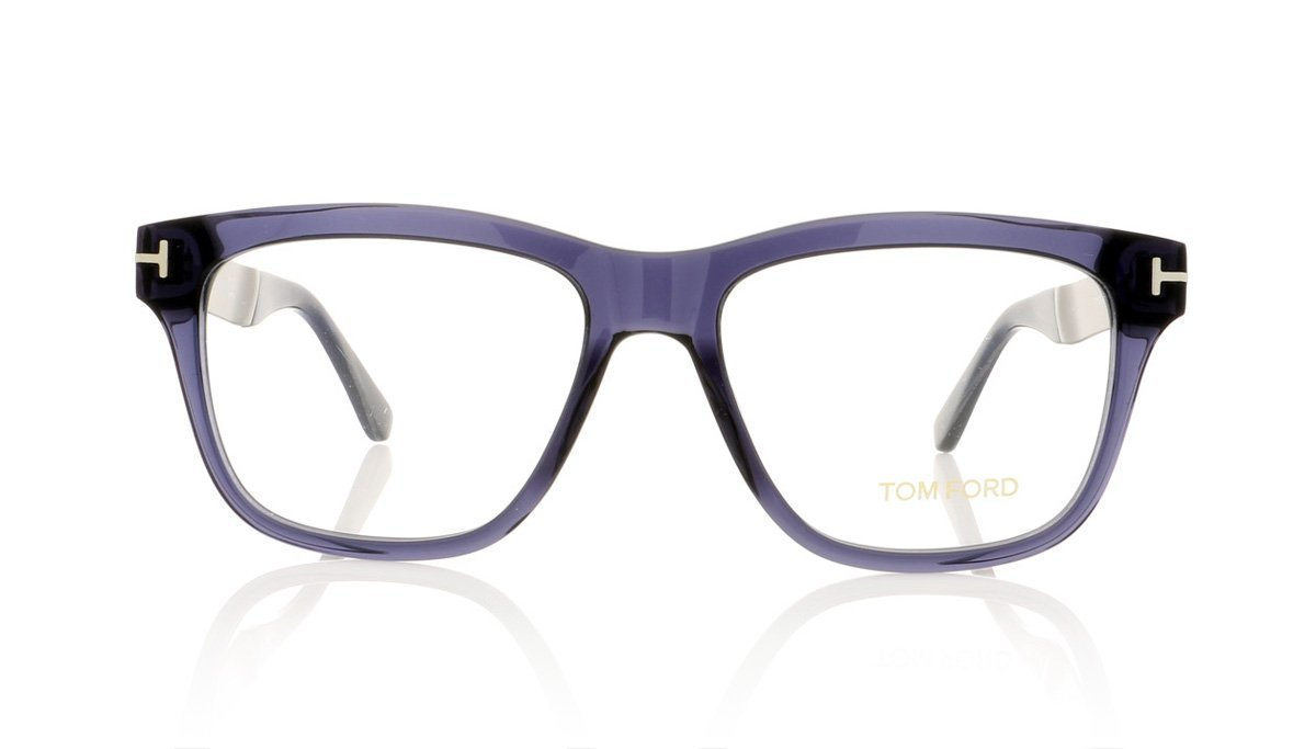 dccc57e08b7 Tom Ford TF5372 090 Shiny Blue Glasses