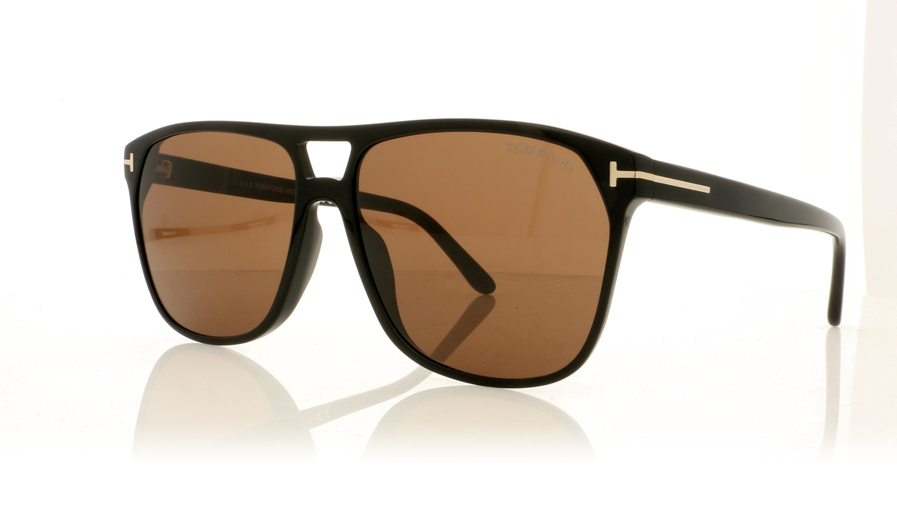 UK stockist GLASSES ONLY /_ black//brown clear lens or dark shades
