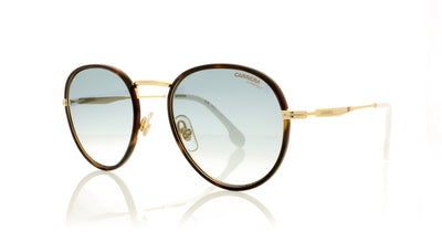 Carrera 151/S 24SEZ Gold Whte Sunglasses at OCO