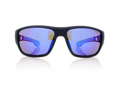 Carrera 4008/S RCTZ0 Matt Blue Sunglasses
