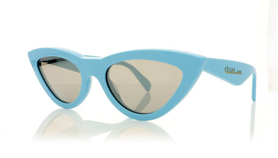 Céline CL40019I 84C Shiny Light Blue Sunglasses at OCO