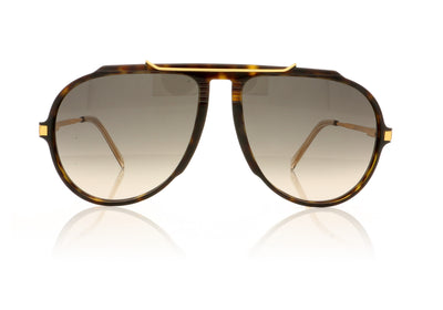 Céline CL40025I 52B Dark Havana Sunglasses