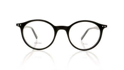 Céline Twig Round CL41408 807 Black Glasses at OCO