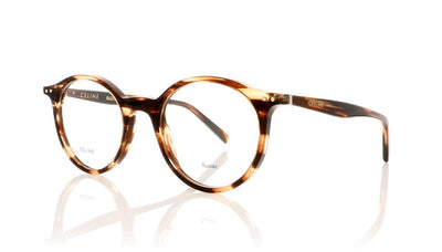 Céline Twig Round CL41408 9RH Havana Glasses at OCO