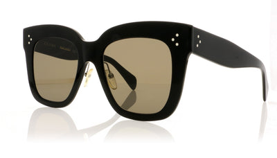 Céline Kim CL41444/S 06Z Black Sunglasses at OCO