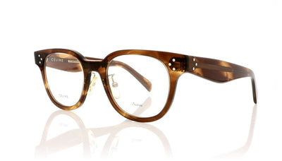Céline CL41459 Z15 Brown Striped Glasses at OCO