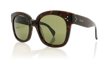 Céline New Audrey CL41805/S 086 Drk Hav Sunglasses