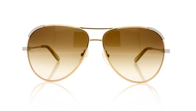 Chloé CE118S 753 Light Gold Sunglasses at OCO