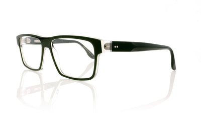 Claire Goldsmith Cole 2 Racing Green Glasses at OCO