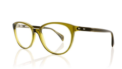 Claire Goldsmith Goldie 7 Olive Glasses at OCO