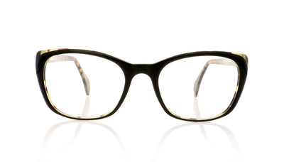 Claire Goldsmith Holmes 5 Blck Leoprd Glasses at OCO