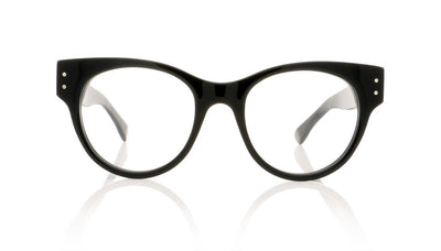 Claire Goldsmith Irwin 1 Black Glasses at OCO