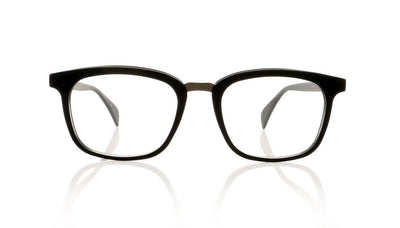 Claire Goldsmith Porter 1 Matte Black Glasses at OCO
