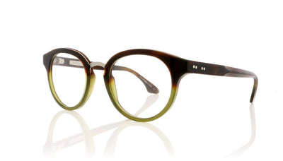 Claire Goldsmith Rixon 4 Tortoise Green Glasses at OCO