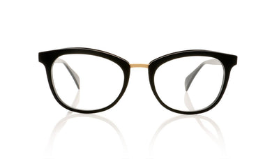 Claire Goldsmith Taylor 2 Black Glasses at OCO