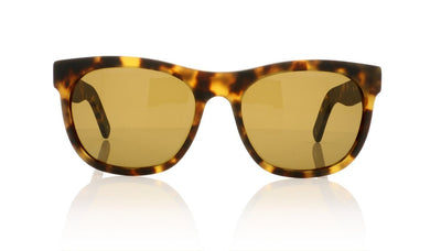 Dick Moby LAX S-LAX 02M Matte Yellow Havana Sunglasses at OCO