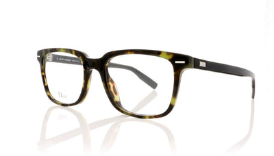 Dior Homme Blacktie 223 SNK Green Havana Glasses at OCO