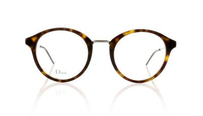 Dior Homme Blacktie228 TDE Havana Glasses at OCO