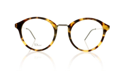 Dior Homme Blacktie228 TDF Havana Matte Khaki Glasses at OCO