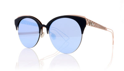 Dior Amaclub FBX Matte Blue Pink Sunglasses at OCO