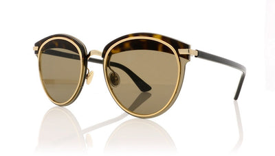 Dior Offset1 Dioroffset1 581 Havana Black Sunglasses at OCO