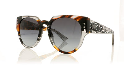 Dior LADYSTUDS3 ACI9O Grey Sunglasses at OCO