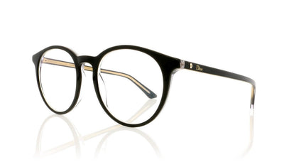 Dior Montaigne15 G99 Black Glasses at OCO