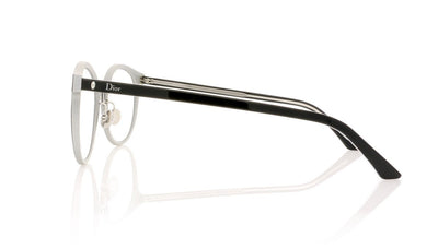 Dior Montaigne 24 T9L Matte Black Glasses at OCO