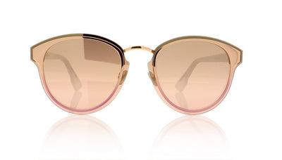 Dior NIGHTFALL 24S Gold White Sunglasses at OCO