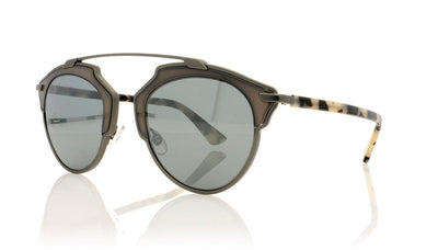 Dior SoReal RJG Matte Dark Ruthenium Sunglasses at OCO