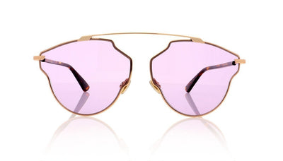Dior So Real POP SoRealPop 06J Gold Havana Sunglasses at OCO