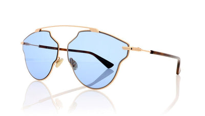 Dior So Real POP SoRealPop DDB Gold Copper Sunglasses at OCO