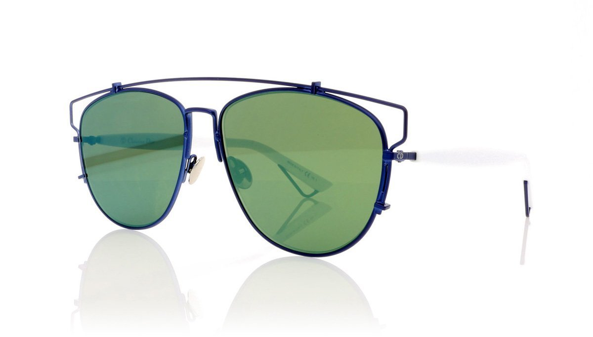 ce38b76da2 Dior Technologic TVC Matte Blue Sunglasses at OCO