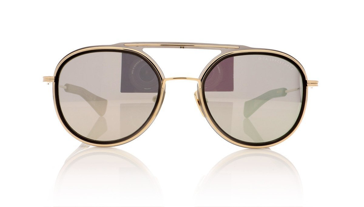 4f8e3f9c30c DITA Spacecraft 19017 C-GRY-GLD Matte Crystal Grey Sunglasses at OCO