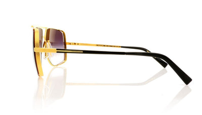 DITA Midnight Special 2010 L Yellow Gold Sunglasses at OCO