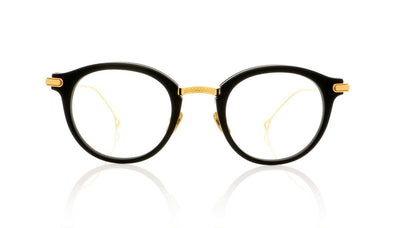 DITA Edmont DRX-2067 A-BLK-GLD Matte Black Glasses at OCO