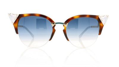 Fendi FF 0041/S VI0 Havana Sunglasses at OCO
