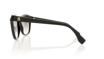 Fendi FF 0043/S 64H Matt Black Sunglasses at OCO