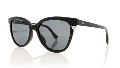 Fendi FF0125 D28BN Black Sunglasses at OCO