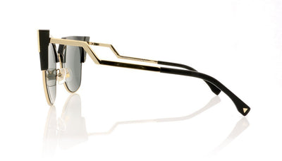Fendi FF0149 REW Black Sunglasses at OCO