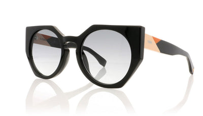 Fendi FF0151/S 807 Black Sunglasses at OCO