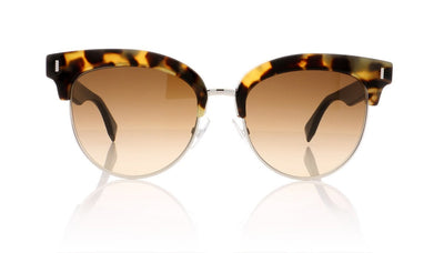 Fendi FF0154/S UDS Light Havana Sunglasses at OCO