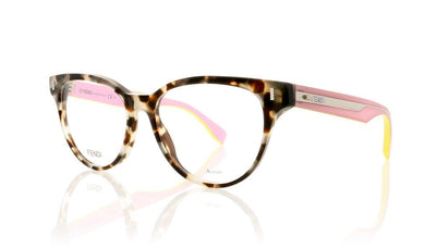 Fendi FF 0164 FF0164 UEY Brown Havana Glasses at OCO