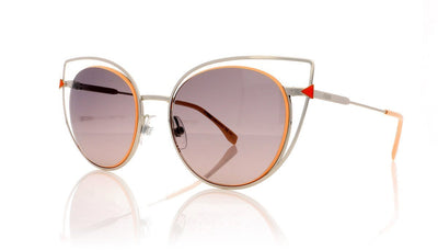 Fendi FF0176/S 10 Palladium Sunglasses at OCO