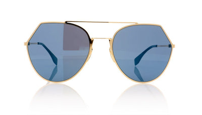 Fendi FF0194/S 000 Rose Gold Sunglasses at OCO