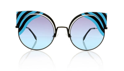 Fendi FF0215/S 0LB Matte Black Sunglasses at OCO