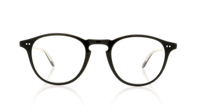 Garrett Leight Hampton 1001 BK Black Glasses at OCO