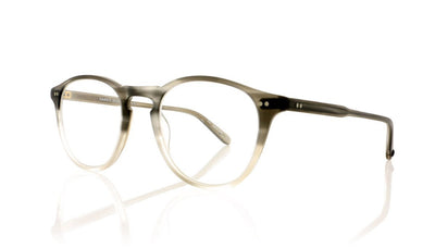Garrett Leight Hampton 1001 MGYSKF Matte Grey Smoke Fade Glasses at OCO